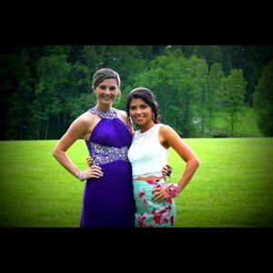 Purple prom/ formal dress